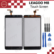 LEAGOO M8 Touch Panel Original Touch Screen Digitizer Sensor Replacement For LEAGOO M8 Mobilephone Accessories With Tools