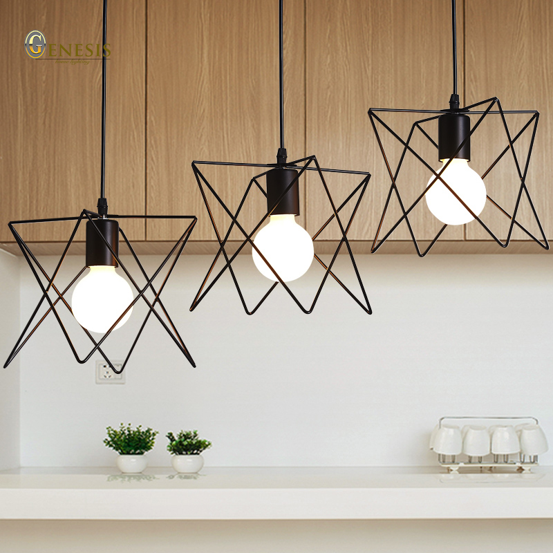 Genesis lighting PS6405    hanging pendant light fixture  metal design living room restaurant bar coffee shop pendant lamp<br><br>Aliexpress