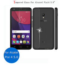 "For Alcatel PIXI 4 5010d Glass 9H Premium Screen Protector Film For Alcatel One Touch Pixi 4 (5) 5010D 5045D 5.0"" Tempered Glass"