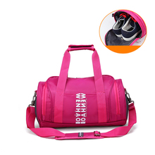 Girl Brand New Gym Bag With Ventilation Holes And Separate Space For Keeping Shoes