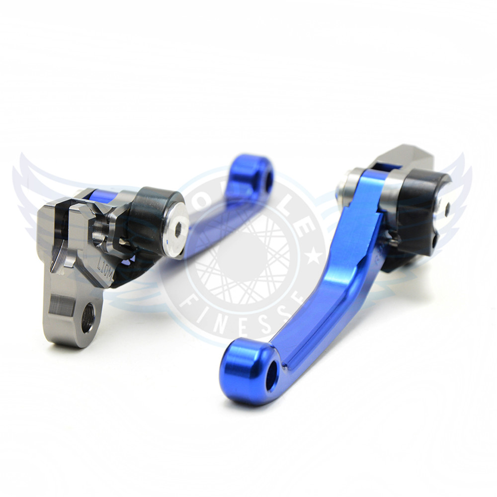 Motorcycle blue color Top Quality CNC Pivot Brake Clutch Levers For Honda XR250 / MOTARD 95 96 97 98 99 00 01 02 03 04 05 06 07<br><br>Aliexpress