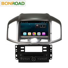 "Bonroad Newest 8"" Pure Android 6.0 Rom 2G Rom 32G GPS For captiva 2012-2015  Bluetooth Car Player Navigation Radio dvd cd wifi"