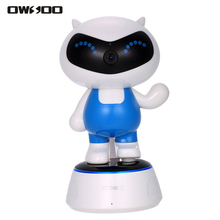 OWSOO Robot IP Camera PTZ HD 720P Wireless WiFi Baby Monitor 1.0MP CCTV Security Camera Night Vision Phone APP Control(China)