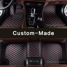 Custom fit car floor mats for Mercedes Benz M ML GLE class W163 W164 W166 C292 coupe 63 AMG 350 400 450 500 carpets rugs liners(China)