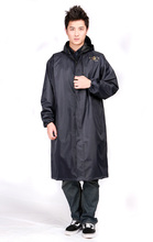 Top Quality Polyester Trench Raincoat Men Windbreaker Raincoat Long Windbreaker Type Poncho Rain Take Rain Gear