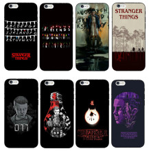 Stranger Things Christmas Lights Soft TPU Black Silicone Cover Cases For iphone SE 5 5S 6 6s 6plus 7 7Plus Cases Coque Capa Skin
