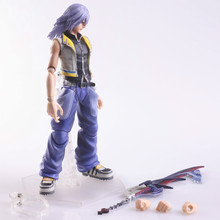 Original PVC Action Figure Riku Kingdom Hearts Model Kit
