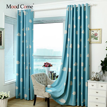 One Panels Country/Modern/Neoclassical/Mediterranean/European Cartoon Blue/Pink Kids Room Polyester Panel Curtains Drapes