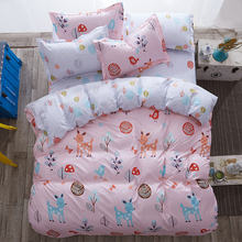Modern style Bedding Sets Polyester Duvet Cover set Bed Sheet Pillowcase Twin Full Queen size King Super Soft 4Pcs /3 Pcs