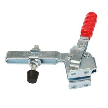 MTGATHER Toggle Clamp 227KG Holding Capacity Quick Release Vertical Type 12132 Toggle Clamp Galvanized Iron Best Price(China)