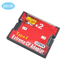 Free shiping High Quality Micro SD TF to CF Card Adapter MicroSD Micro SDHC to Compact Flash Type I Memory Card Reader Converte