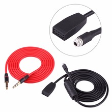 Car Audio 3.5mm Female Socket AUX Cable Lead REPLACE CD CHANGER For BMW E46  1999 to 2006