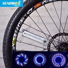 Leadbike New Bicycle Wheel Light 16 LED 32 Patterns Waterproof Cycling Road MTB Bike Signal Tire Spoke Lamp FreeShipping(China)