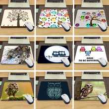 MaiYaCa Funny Owl Animal Desk aming Mouse Pad Size (22x18x0.2cm)