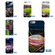 Barcelona Spain Estadio Camp Nou Soft Silicone TPU Transparent Phone Case For Samsung Galaxy Note 3 4 5 S4 S5 MINI S6 S7 edge