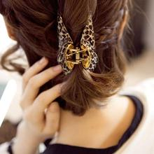 new 2014 Korea imported genuine leopard hair jewelry hairpin women hair accessories hair claw free shipping 6 design Top selling