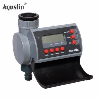Solenoid Valve  Digital Home Garden Water Timer Garden Irrigation  Controller System with LCD Display #21002