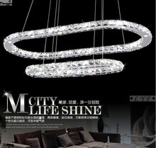 CHINA supplier high quality new product crystal three rings chandeliers pendant lamp