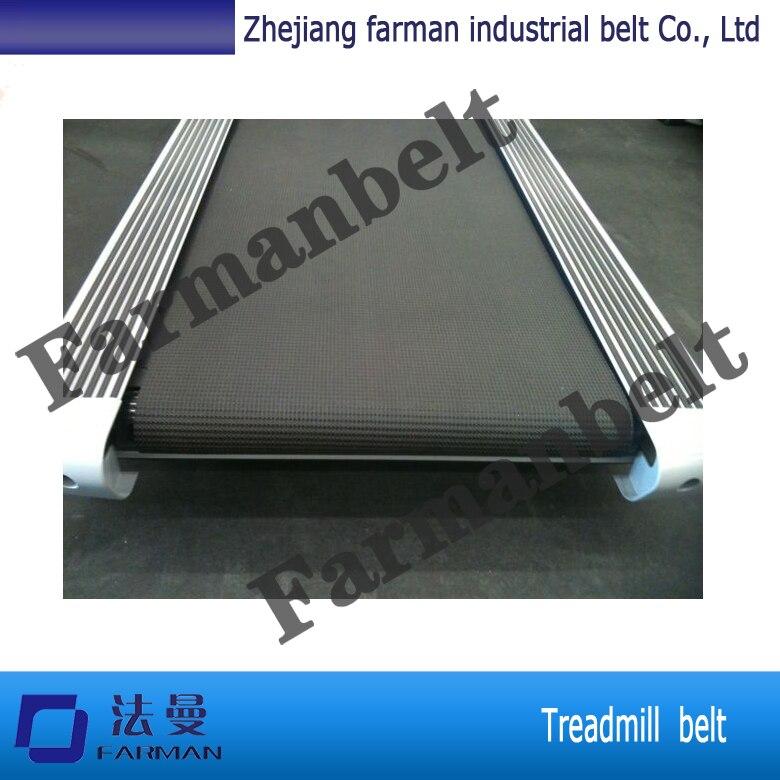 China Manufacturer 1.4MM Black Grass Pattern Treadmill Belt Conveyor Belt<br>