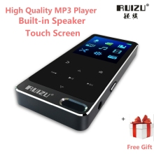 Original RUIZU X19/X05S All Metal Touch Screen HIFI MP3 Music Player Built-in Speaker 8GB High Quality Lossless Sound with FM(China)