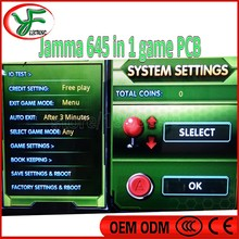 Diy arcade cabinet box4 arcade game board 645 in 1 game board jamma arcade game pcb multi game pcb card VGA CGA output(China)