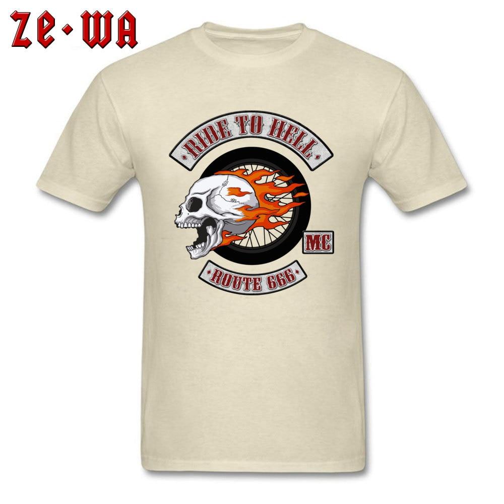 2018 Newest Men's T Shirt Rider Logo Printed T Shirts 100% Cotton Short Sleeve Printed Top T-shirts O-Neck Wholesale Rider Logo beige