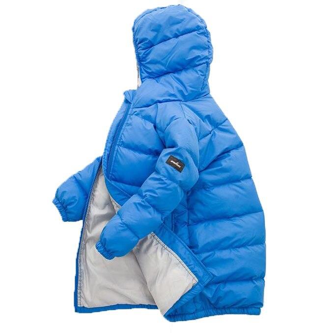 11.11 Hot Sale Hooded Girls Boys Winter Coat Long Sleeve Boys Winter Jacket WindProof Children Kids Winter Jacket 4 to 12 YearsОдежда и ак�е��уары<br><br><br>Aliexpress