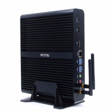 The Newest Fanless Mini PC With i7 Mini Desktop Host 7th Gen 7500u Dual Core DDR4 Memory DP And HDMI Port(China)
