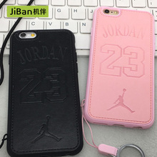 JiBan New Pattern TPU Slim Back Cover Skin for iPhone 6s 6plus Case Ultra Thin NBA Soft Phone Shell For iphone 7 7plus Cases(China)