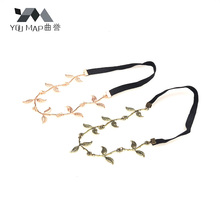 YouMap Jewelry Leaves Grecian Garland Head Hair Band Headband Gold Bronze Olive Branch Leaf A9R11C(China)