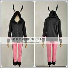 New Game idolish7 cosplay KUJO TENN cos man woman costume cute Rabbit ears Sweater Daily leisure suit (top+pants)(China)