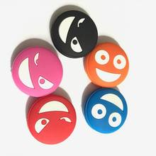 Free shipping(5pcs/lot)Funny face vibration dampener nice looking/tennis racket/tennis racquet