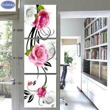 Алмазная вышивка розовый белая роза продажа Алмазный живопись 3 шт. полный Алмазная мозаика Триптих картина стразами вышивка крестиком(China)