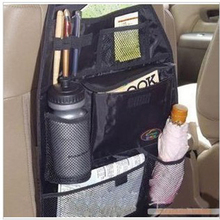 Car Auto Seat Multi Pocket Storage Organizer Arrangement Bag Elastic String Net Mesh Assorted Pocket Elastic Net Car-styling(China)