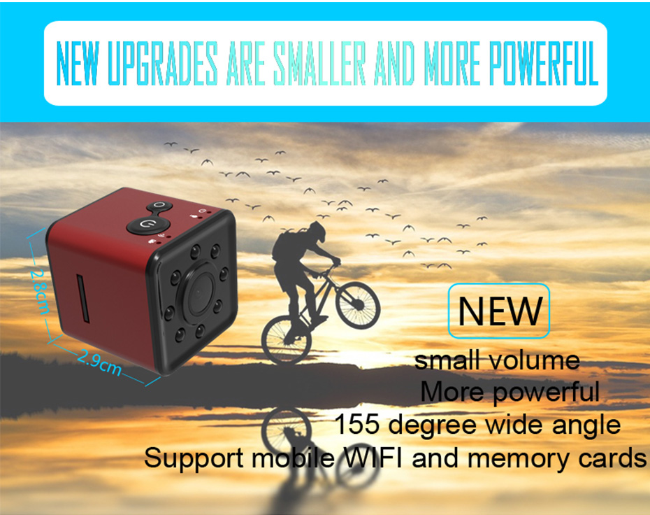 New Mini SQ13 Camera Full HD 1080P Wifi DV DVR Wireless Cam Video Camcorder Recorder Night Vision Small Camera like sq8 sq12 (2)