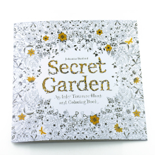24 Pages Relieve Stress For Children Adult Painting Drawing Book Secret Garden Kill Time Colouring Books