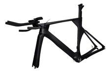 New time trial carbon frame triathlon 700C UD Matt Di2 carbon fiber bike frame BSA PF30 with brakeset FM068(China)