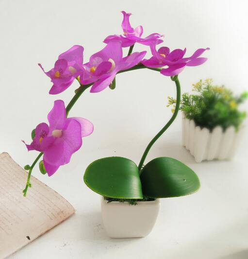 moth orchid simulation flower manufacturers Simulation plant potted plants(China)