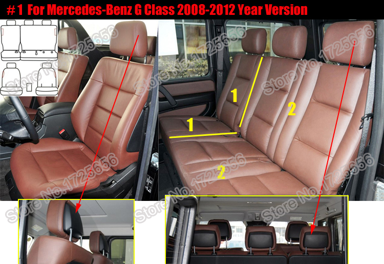 Car seat cover for car seats set (1)