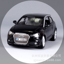 BBURAGO alloy car model Audi A1 simulation Metal model Collection Diecast Toys Gifts for children car decoration