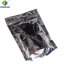 16x24cm (6.25x9.5in) Brand new Three side seal pouch food coffee storage recyclable stand up ziplock pouch alunminum foil(China)