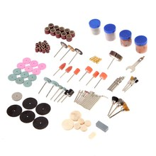 High Quanlity 161 Pcs Bit Set Suit Mini Drill Rotary Tool Fit Dremel Grinding Accessories for Wood Metal Mold Engraving