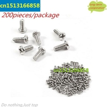 200PCS/Pack Repair Replacement Alloy Screws for Samsung Galaxy S 4 IV i9500 I9505 i337 M919