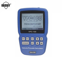 VPC-100 Professional Hand-Held Auto Pin Code Calculator For almost all cars With 500 Tokens Update Online vpc100 pin code reader