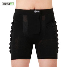 Children Skateboarding Shorts Adult Downhill Motorcycle Protection Gear MTB Soft Pad Hip Butt Short Ski Snowboard Skating Shorts(China)