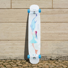 KOSTON pro light weight  dancing style  longboard completes for girl use,  long skateboard  for  board walking