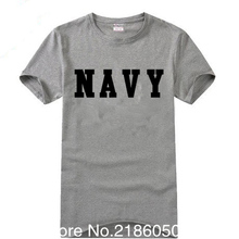 Summer US Army Navy Air Force USAF Marines USMC Military Physical PT T Shirt Men Funny  O Neck Print Cotton Casual Shirts