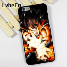 LvheCn phone case cover for iPhone 4s 5 5s 5c SE 6 6s 7 8 plus X ipod touch 4 5 6 Goku Dragon Ball Manga Superhero Hero Powerful(China)