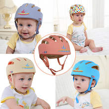 Baby Learn to Walk Anti Collision Cap Baby Drop Cap Safety Helmet Boy Girl Protective Hat(China)