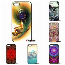 For iPhone 4 4S 5 5C SE 6 6S 7 Plus Galaxy J5 J3 A5 A3 2016 S5 S7 S6 Edge Fashional Om Aum Art Hard Mobile Phone Case Cover